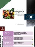 Estrategias de Distribución 2