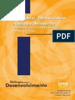 LIVRO Republica-Democracia IPEA-2013 Pesquisavel