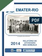 Relatório de Atividades 2014 -- EMATER - RIO SÃO GONÇALO - P.pdf