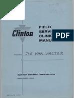 Clinton Field Service Clinic Manual