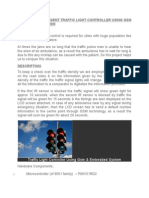 design of intelligent traffic light controller using gsm