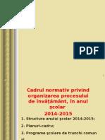 cadru normativ 2014-2015 GEO.ppt