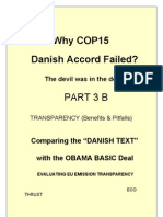 Part 3B COP15 FAILURE ANALYSIS Transparency Evaluation