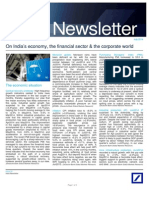 2014-07 Deutsche Bank - India Newsletter