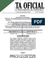 Gaceta Extraordinaria 6.170