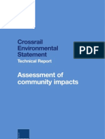 Crossrail Community Impacts Technical Report