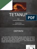 Referat Tetanus Pratama Adityabiantoro