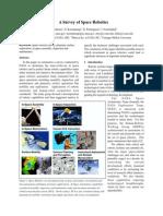 A Survey of Space Robotics