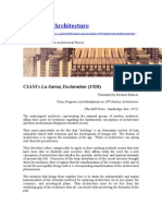 1928 - Declaração de Sarraz