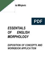 Essentials of English Morphology