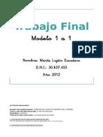 Trab Final Modelo 1 a 1