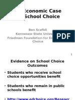 The Economic Case for Choice - Scafidi
