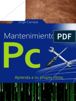 Mantenimiento de PC - Jorge Carranza