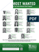 Louisiana DCFS 2015 Most Wanted