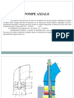 Tema VII - Pompe Axiale