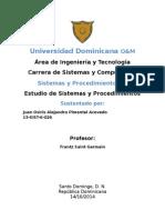 Estudios de los sistemas y procedimientos