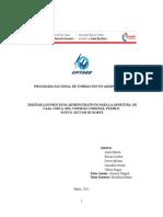Diseño de Los Procesos Administrativos Para La Apertura de La Caja Chica Del Consejo Comunal Pueblo Nuevo Sector III Norte