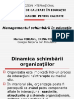5 Managementul Schimbarii in Educatie