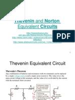 Rangkaian Ekivalen Thevenin Dan Norton