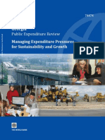 Managing Expenditures Pressures for Sustainability and Growth
