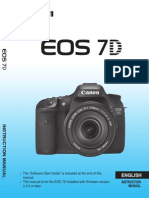 Eos 7d Instruction Manual