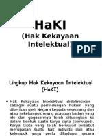 Buku Saku - Sekilas Tentang HAKI