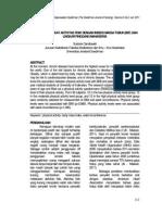 Hubungan Tingkat Aktivitas Fisik Dengan Indeks Massa Tubuh (Imt) Dan Lingkar Pinggang(1)