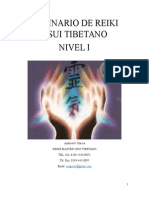 Manual - Seminario de Reiki Usui Tibetano - Nivel i