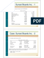 Notes - Case- Sunset Boards Inc.