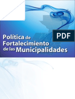 Politica de Fortalecimiento Municipal (1)
