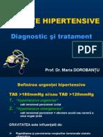 Urgente in Hipertensiunea Arteriala