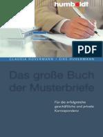 Claudia Hovermann, Eike Hovermann Das Große Buch Der Musterbriefe Für Die Erfolgreiche Geschäftliche Und Private Korrespondenz, 5. Auflage 2008