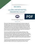 20150204 Big Data Seizing Opportunities Preserving Values Memo