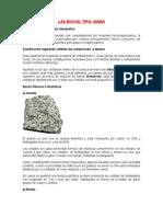 Las Rocas Igneas ( tipos y caracteristicas)