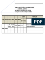 Tabela Mensal de Atividades - Cid Jaguarão - Aracoiaba - CE