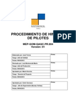 4. MEP-GOM-QAQC-PR.004_Hincado de Pilotes v 1.0