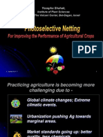 Photoselective Netting