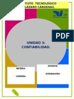 Unidad 3- Confiabilidad