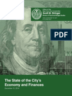 State of Citys Finances2014