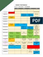 venice youthbuild calendar 14 15