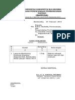 Surat Bappeda