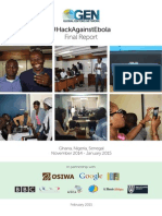 #HackAgainstEbola