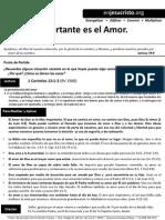 HCV - Lo Más Importante Es El Amor - 1Feb2015