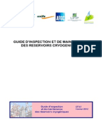 DT 97 InspectionMaintenanceReservoirsCryogeniques