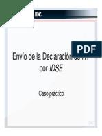 Envio de La Declaracion de RT Por IDSE
