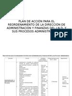 Presentación Plan de Acción