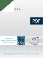 Desktop ED-1000 Operating Manual or-6-X400 A
