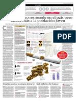 [Artículo de EL COMERCIO] Datos sobre el tabaquismo en el Perú