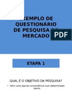 Exemplo Questionario de Pesquisa de Mercado.original