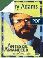 Adams Gerry - Antes Del Amanecer